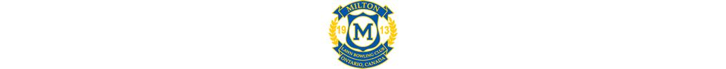 Milton Lawn Bowling Club banner